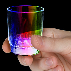 LED Shot Glass - Multicolor