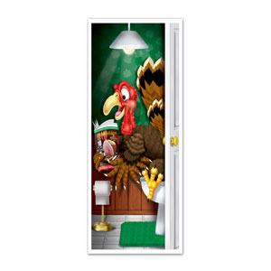 Turkey Restroom Door Cover - 5ft