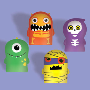Monster Finger Puppet- 12ct