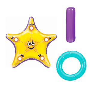 Starfish Ring Toss Inflatable- 11pc
