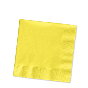 Mimosa Yellow Luncheon Napkins - 16ct