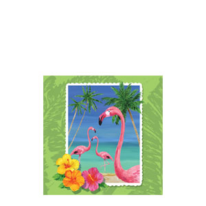 Tropical Beverage Napkins- 16ct
