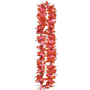 Tinsel Lei- Red