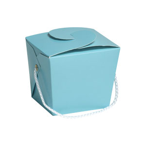 Pastel Blue Pint Pail