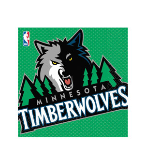 Minnesota Timberwolves Luncheon Napkins