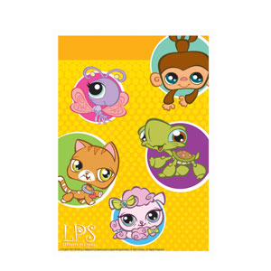 Littlest Pet Shop Loot Bags- 8ct