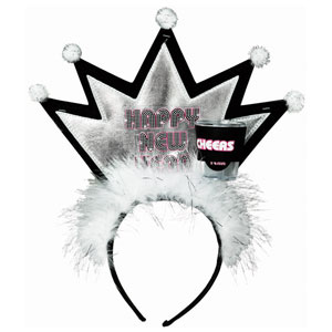 Crown with Shot Glass Tiaras- 10 Inch