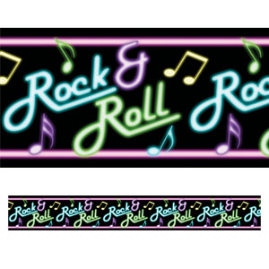 Neon Sign Scene Setter Border Rolls- 40ft