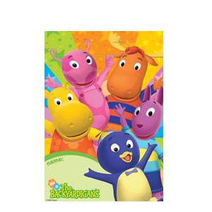 Backyardigans Loot Bags- 8ct
