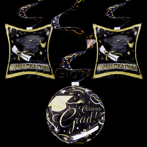 Swirl 24 inch Inflatable Dangle - Graduation