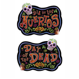 Day of the Dead Sign - 18in x 18in
