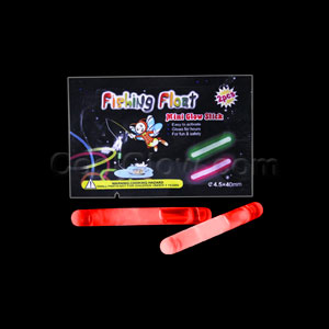 1.5 Inch Retail Packaged Glow Sticks - Red