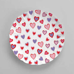 Hearts Paper Tray - 11 Inch