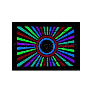 LED Sound Activated Patch - Kaleidoscope