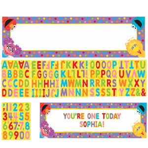 Sesame Street Personalized Sign Banner - Giant