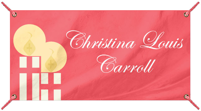 Red Candles - Custom Banner