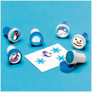 Winter Fun Stamper Set- 6ct