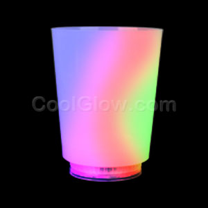 Fun Central AI598 LED Light Up 12oz Opaque Cup - Multicolor