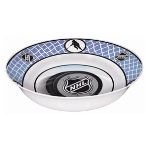 NHL Melamine Bowl- 13in