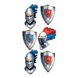 Valiant Knight Heraldry Tattoos
