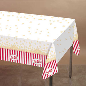 Reel Hollywood Plastic Tablecover- 108in