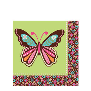 Hippie Chick Luncheon Napkins- 16ct