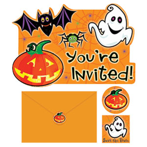 Scared Silly Invitation Pack- 20ct
