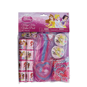 Disney Princess Favor Pack- 48ct