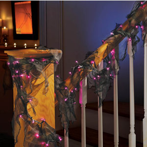 String Lights With Gauze- 10ft