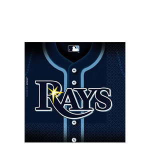 Tampa Bay Rays Luncheon Napkins- 36ct