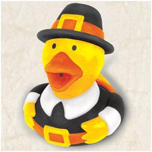 Pilgrim Rubber Ducky Favor- 2 Inch
