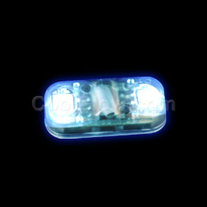 Fun Central AC946 LED Light Up Motion Activated Light Chip - Blue