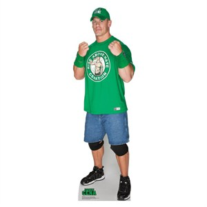 John Cena Green Shirt WWE Standup