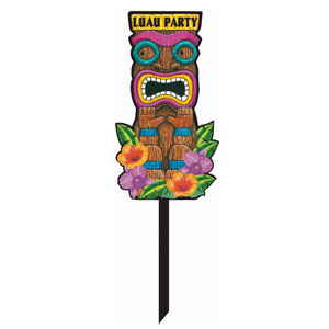 Tiki Party Yard Sign- 32in