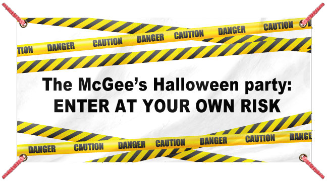 Caution Tape - Custom Banner