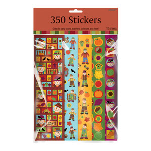 Fall Value Pack Stickers- 350ct