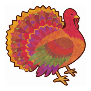 Turkey Cutout- 13 Inch