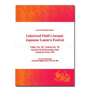 Oriental Bird - Custom Invitations