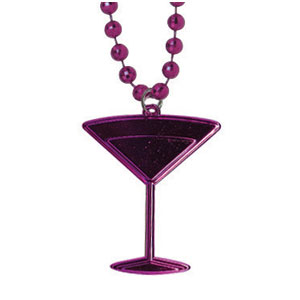 Martini Medallion Necklace
