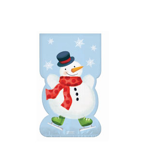 Whimsical Snowman Party Bag- 20ct