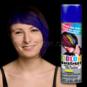 Blue Color Hairspray- 3oz