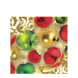 Merry Moments Luncheon Napkins