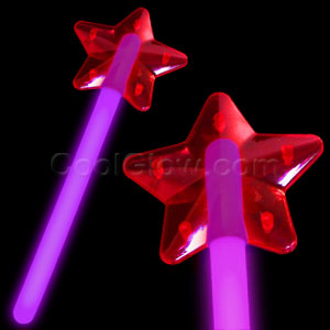 Glow Star Wand - Purple