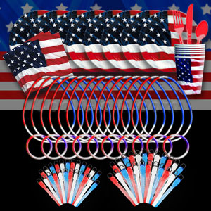 4th of July Glow Party Package - Gold