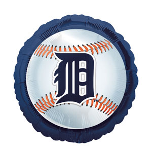 Detroit Tigers Balloon- 18in