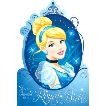 Disney Cinderella Invitations