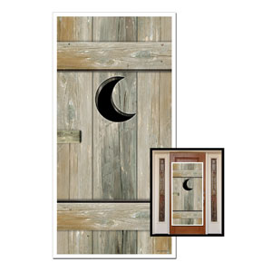 Outhouse Door Cover- 5ft