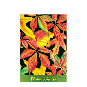 Falling Leaves Invitations- 8ct