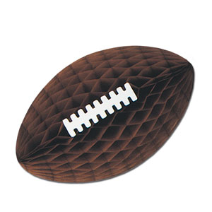 Brown Tisse Footballs with Laces- 12in