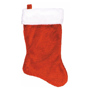 Plush Christmas Stocking- 18 Inch